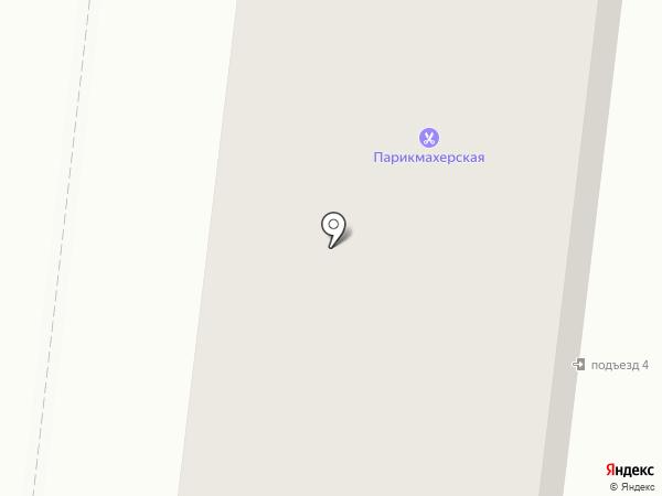 Фрязинец на карте Фрязино