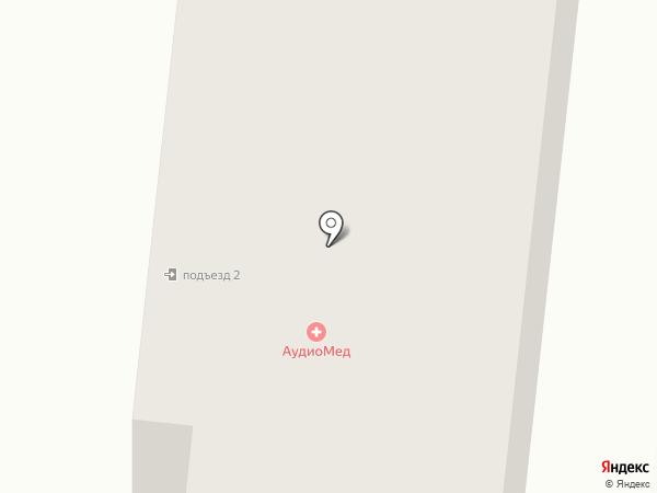АудиоМед на карте Фрязино