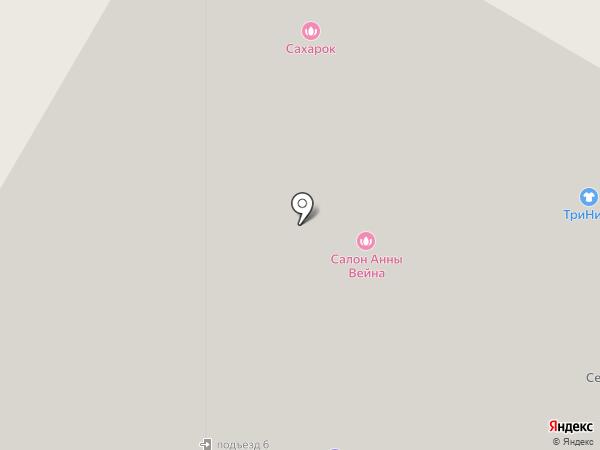 Бэби-клуб на карте Щёлково