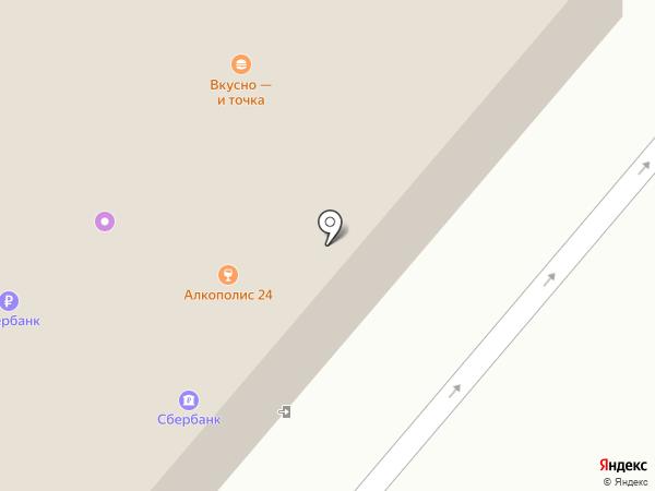 McDonald`s на карте Фрязино