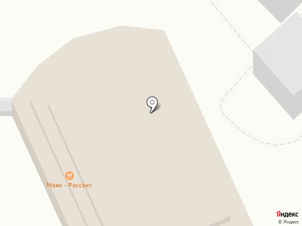 Шатер на карте Геленджика