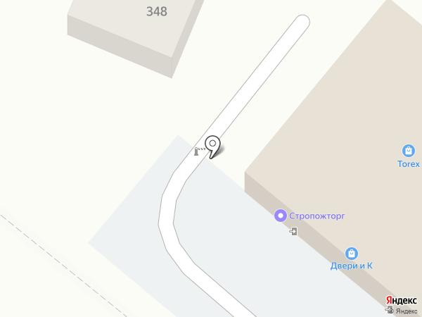 Колорит на карте Геленджика