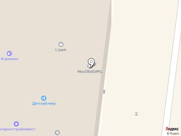 Центр юридической помощи на карте Фрязино