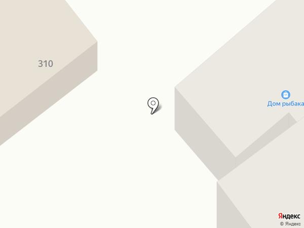Дом рыбака на карте Геленджика