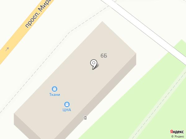 Цна на карте Фрязино