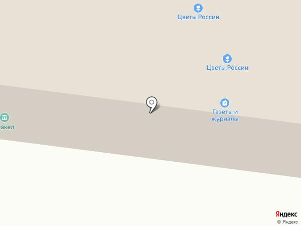 Фрязино на карте Фрязино