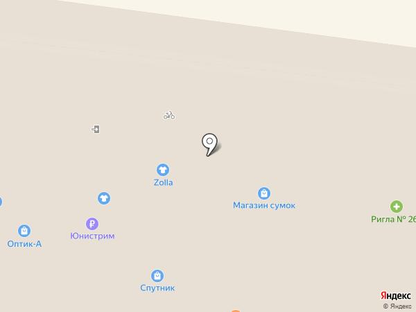 Цветочная галерея на карте Фрязино