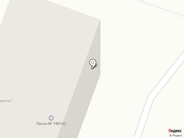 Почтовое отделение №140143 на карте Родников