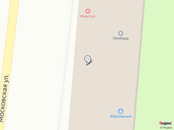 Ломбард на Московской на карте Фрязино