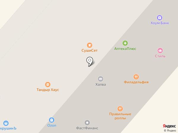 Каприз на карте Фрязино