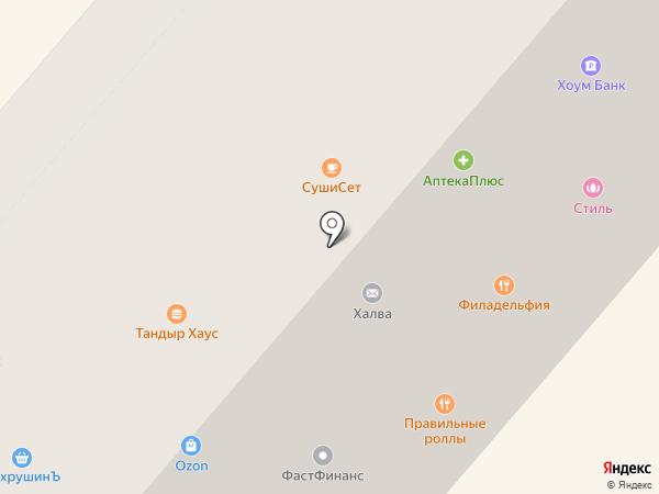 City style на карте Фрязино