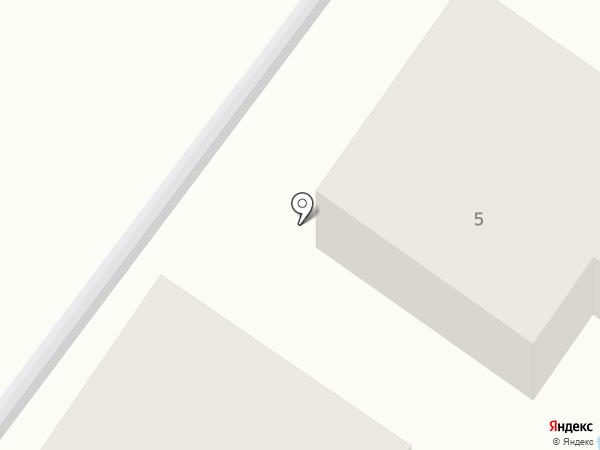 Уютный Дом на карте Геленджика