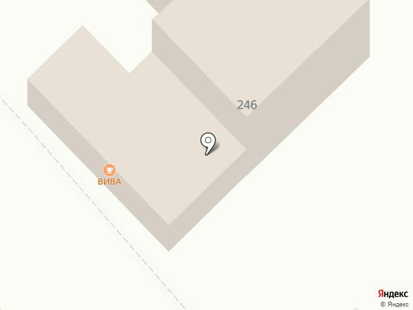 ВиВа на карте Геленджика