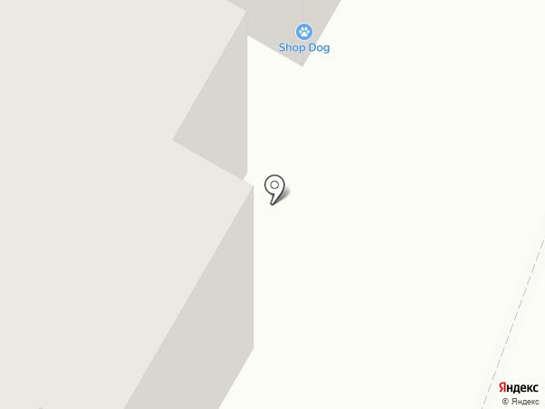 Магазин тканей на карте Родников