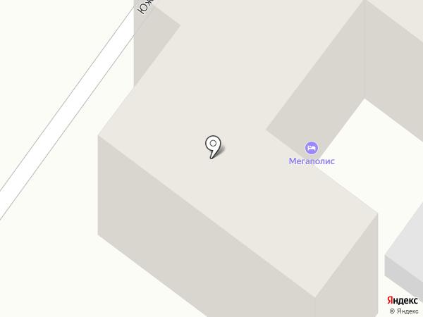Мегаполис на карте Геленджика
