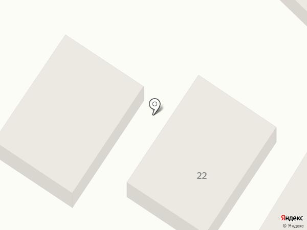 Шаньси на карте Геленджика
