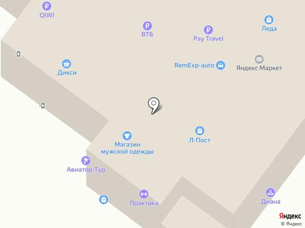 Подмосковная роза на карте Щёлково