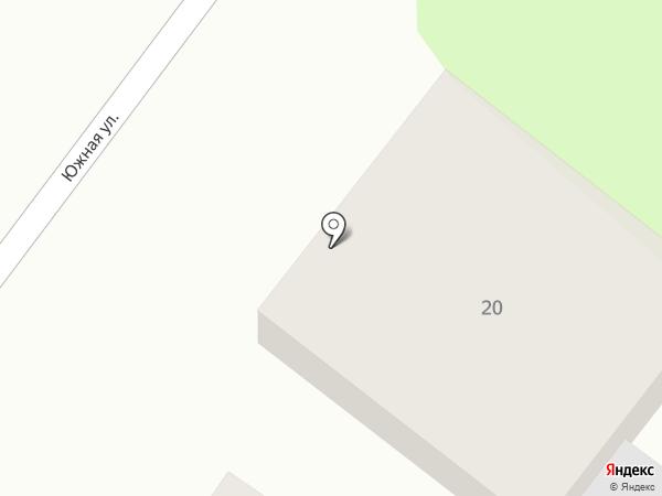 Готлиб на карте Геленджика