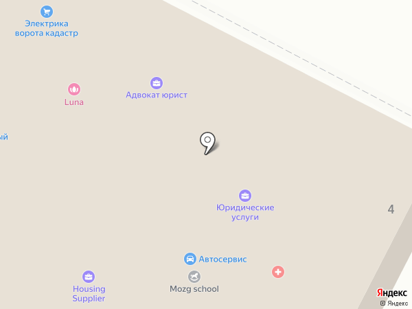 Магазин цветов на карте Удельной