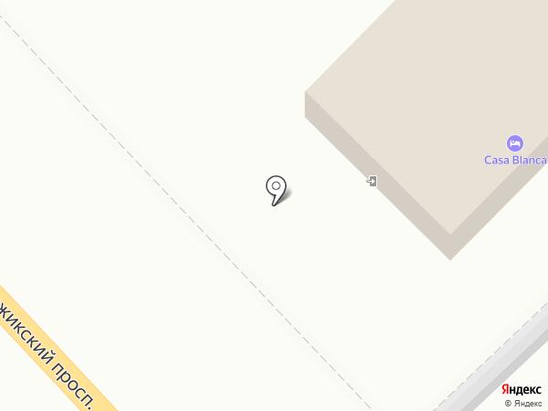 Casa Blanca на карте Геленджика
