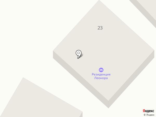 Резиденция Леонора на карте Геленджика