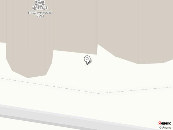 Храм Владимирской Иконы Божией Матери на карте Быково