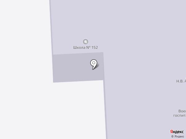 Донецкая общеобразовательная школа I-III ступеней №152 на карте Моспино