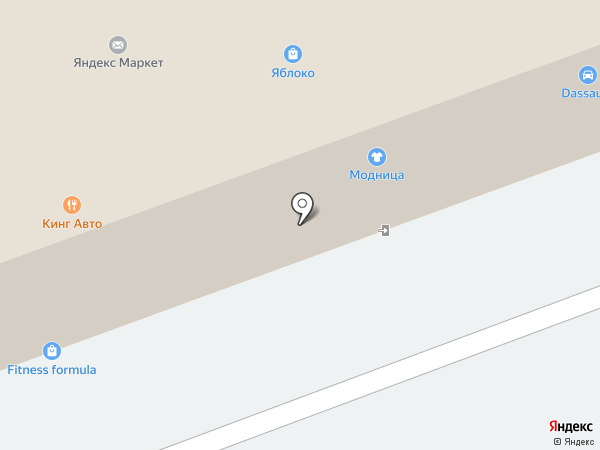 Яблоко на карте Фрязино
