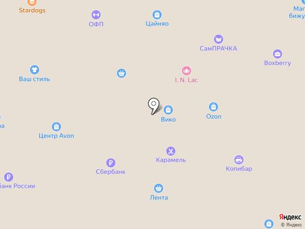 Паяна на карте Фрязино