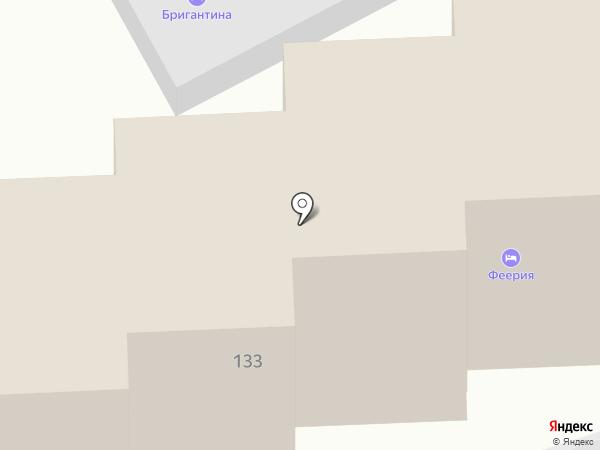 Феерия на карте Геленджика