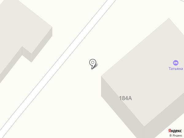 Парк-сити на карте Геленджика