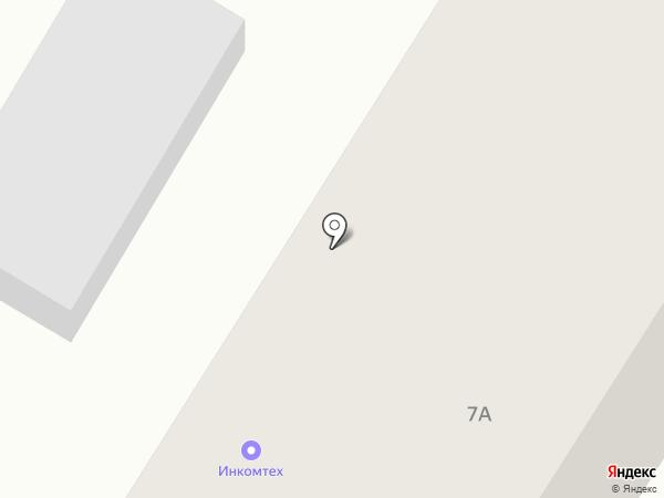 ИНКОМТЕХ на карте Геленджика