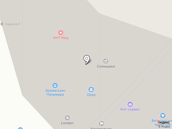 Нотариус Крылов А.Л. на карте Фрязино