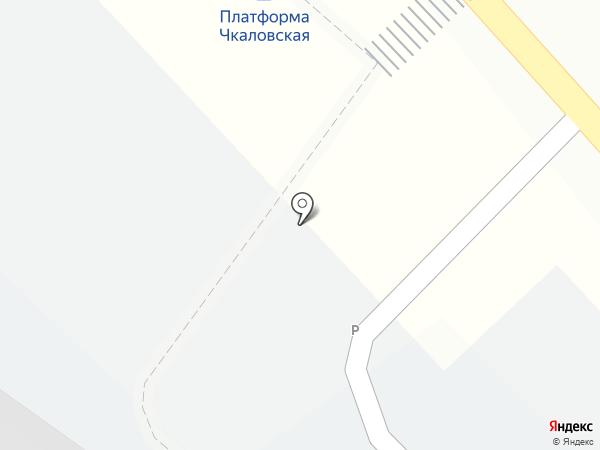Киоск фастфудной продукции на карте Щёлково