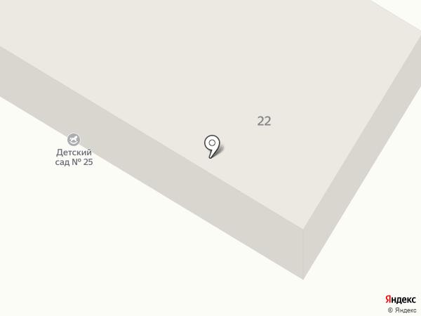 Детский сад №25 на карте Быково
