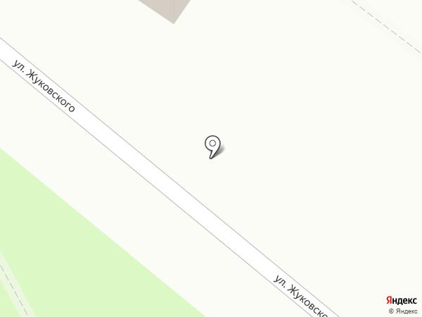 Креветкин на карте Щёлково
