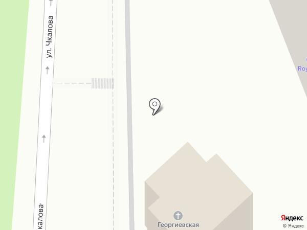 Храм Георгия Победоносца на карте Геленджика