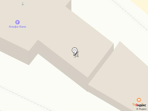 Гаврош на карте Геленджика
