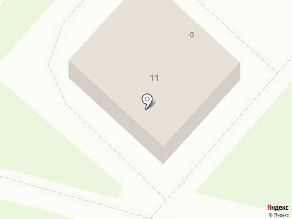 Корона на карте Фрязино