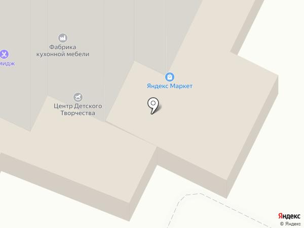 Каскад на карте Фрязино