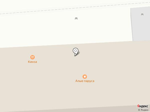 Трапеза на карте Геленджика