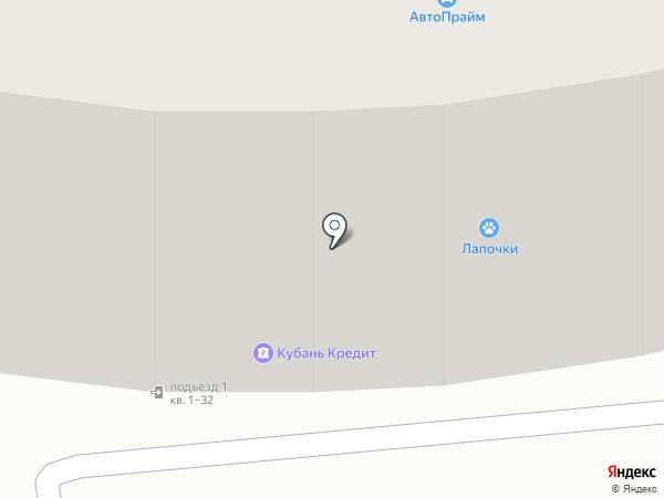 Диана на карте Геленджика