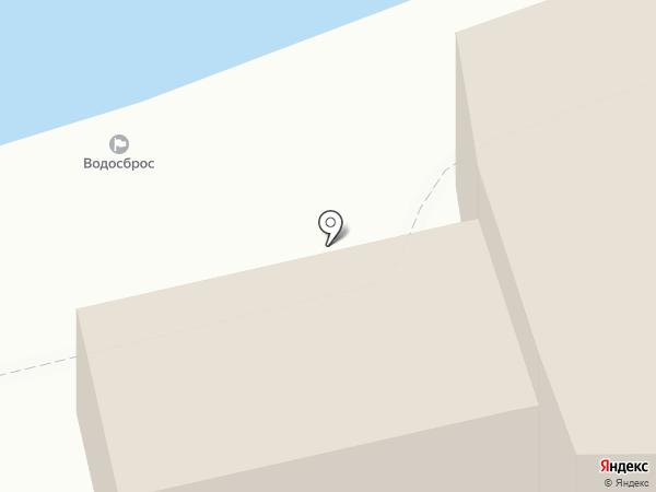 Каменный замок на карте Геленджика