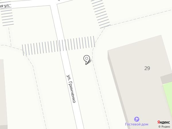 Марш на карте Геленджика