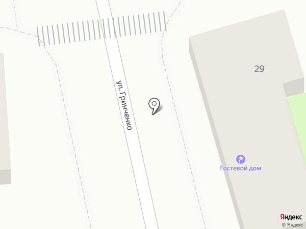 Ухты-Бухты на карте Геленджика