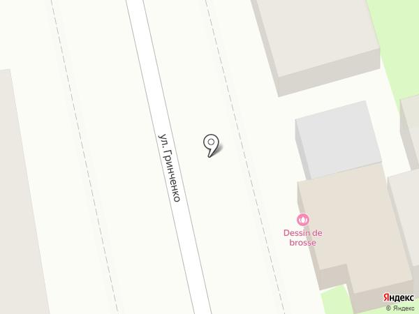 Dessin de brosse на карте Геленджика