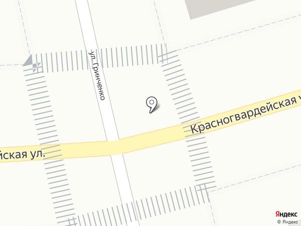 Блинная на карте Геленджика