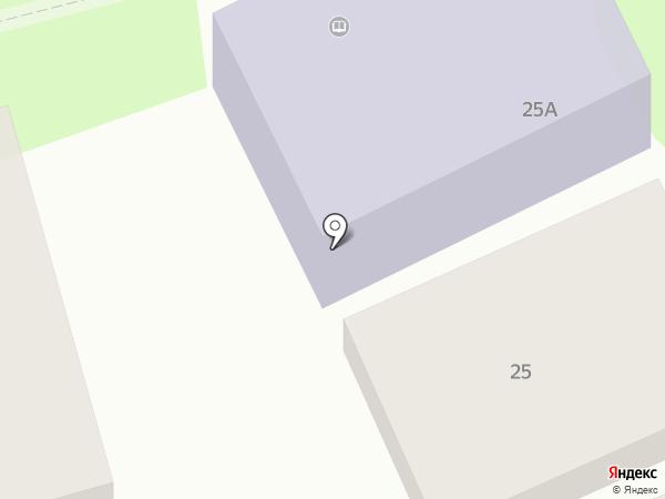 Центральная библиотека им. В.Г. Короленко на карте Геленджика
