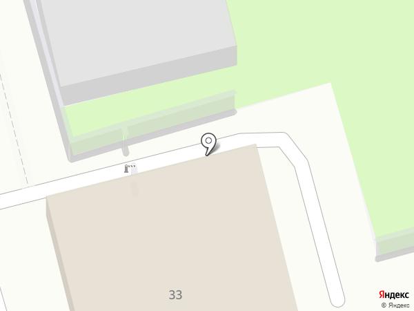 Золотой телец на карте Геленджика