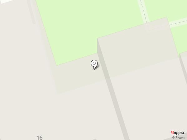 Сосновый домик на карте Геленджика